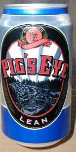 Pig's Eye Lean