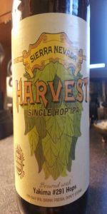 Harvest Single Hop IPA - 291 Varietal
