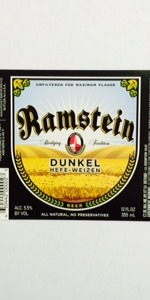 Ramstein Special Aged Dunkel Weisse