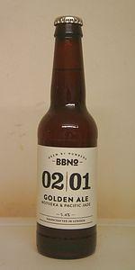 02|01 Golden Ale (Motueka & Pacific Jade)