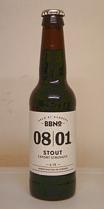08|01 Stout (Export Strength)