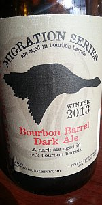 Bourbon Barrel Dark Ale (Winter Migration) 2013