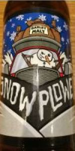 Snow Plowed Winter Ale