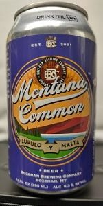 Bozone Montana Common