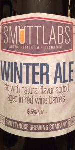 Smuttlabs Winter Ale - Aged In Red Wine Barrels