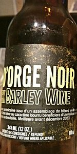 Black Barley Wine