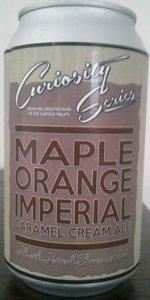 Maple Orange Imperial Caramel Cream Ale