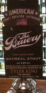 Caledonian / Bruery Oatmeal Stout