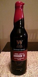 Barrel Aged Ale Brrrbon '13