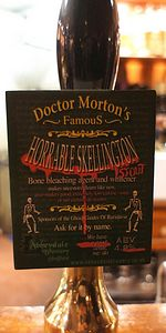 Doctor Morton's Horrable Skellington
