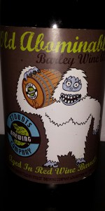 Stoudts Barrel Aged Old Abominable-Red Wine