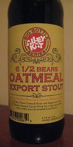 6 1/2 Bears Oatmeal Export Stout