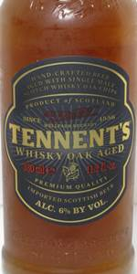 Tennent's Aged With Whisky Oak