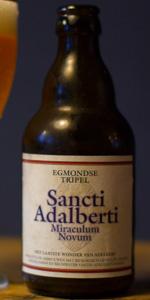 Egmondse Tripel - Sancti Adelberti Miraculum Novum