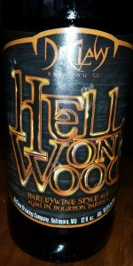 Hell On Wood (Barleywine Style Ale Aged in Bourbon Barrels)