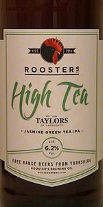 High Tea (Jasmine Green Tea IPA)