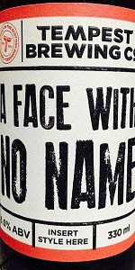 A Face With No Name