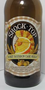 Shock Top Honey Bourbon Cask Wheat