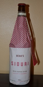 Siduri White Pepper Saison