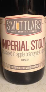 Smuttlabs Imperial Stout - Aged In Apple Brandy Oak Barrels