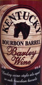 Kentucky Bourbon Barrel Barleywine