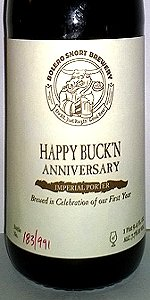 Happy Buck'n Anniversary