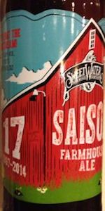 17th Anniversary Saison Farmhouse Ale