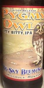 Pygmy Owl Itty Bitty IPA