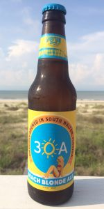 30A Beach Blonde Ale