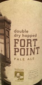Double Dry Hopped Fort Point Pale Ale