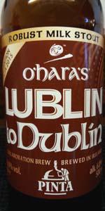 O'Hara's Lublin To Dublin