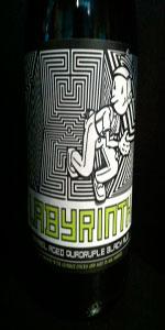 Crooked Line: Labyrinth Barrel Aged Quadruple Black Ale