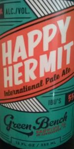 Happy Hermit Pale Ale