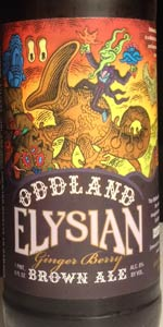 Oddland Ginger Berry Brown Ale