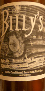 Billy's Pale Ale
