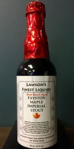Rum Barrel Aged Fayston Maple Imperial Stout