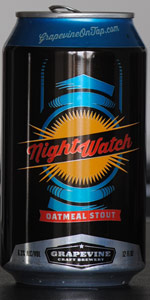 NightWatch Dry Oatmeal Stout