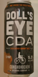 Doll's Eye CDA (Cascadian Dark Ale)