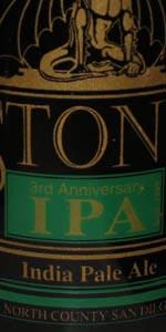 3rd Anniversary IPA
