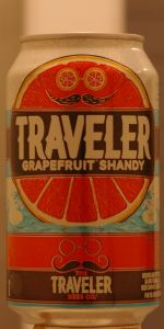 Traveler Grapefruit Shandy