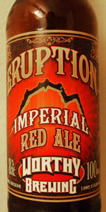 Eruption Imperial Red Ale