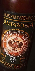 Church-Key Ambrosia Imperial Amber