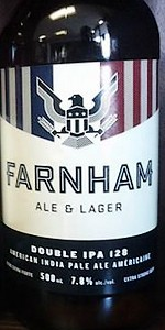 Farnham Ale & Lager Double IPA 128