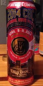 2014 CBC Centennial State Pale Ale