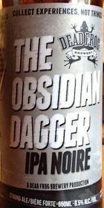 The Obsidian Dagger IPA Noire