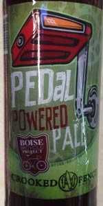 Pedal Powered Pale Ale