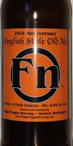 English Style Ale 2014 Anniversary