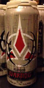 Klingon Warnog Roggen Dunkel Ale