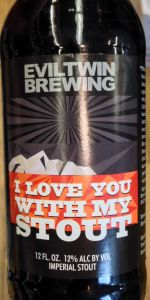 I Love You With My Stout