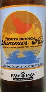 South Branch Summer Ale